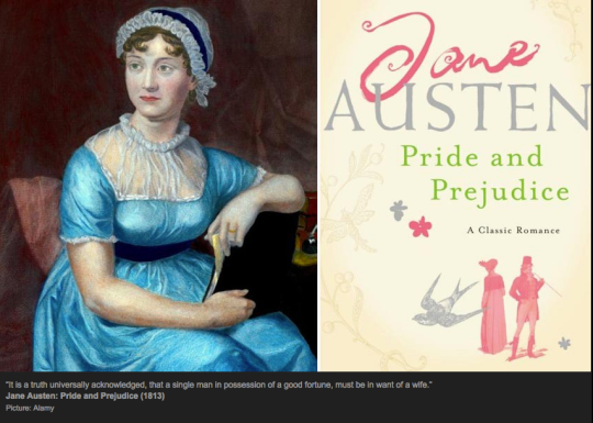 Jane Austen, Pride and Prejudice.